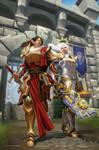 Mighty ladies by Kresto-The-Artist