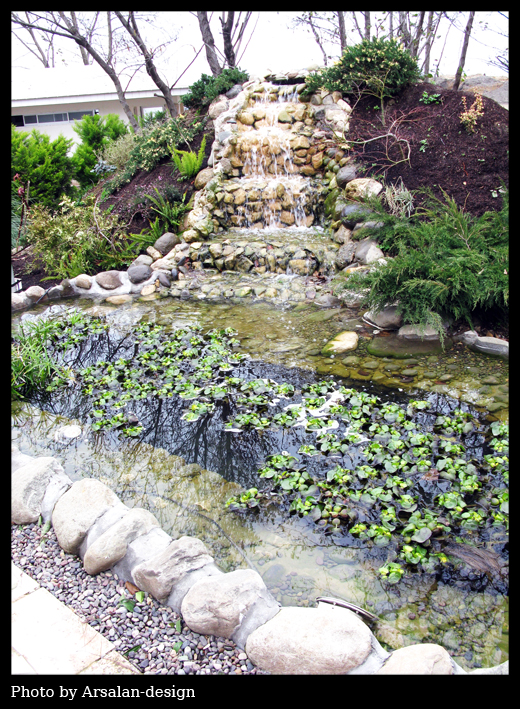 Artificial waterfalls by arsalan design on deviantart for Artificial waterfalls design
