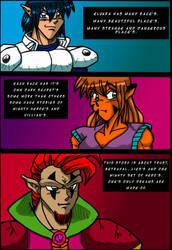 Chrome Dragon Page 2 by blackbatgraphics