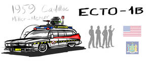 GHOSTBUSTERS International: Ecto-1 by iProton