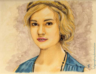 Lily James by LadyPersephony