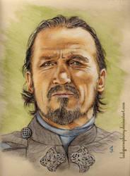 Bronn (Jerome Flynn) by LadyPersephony