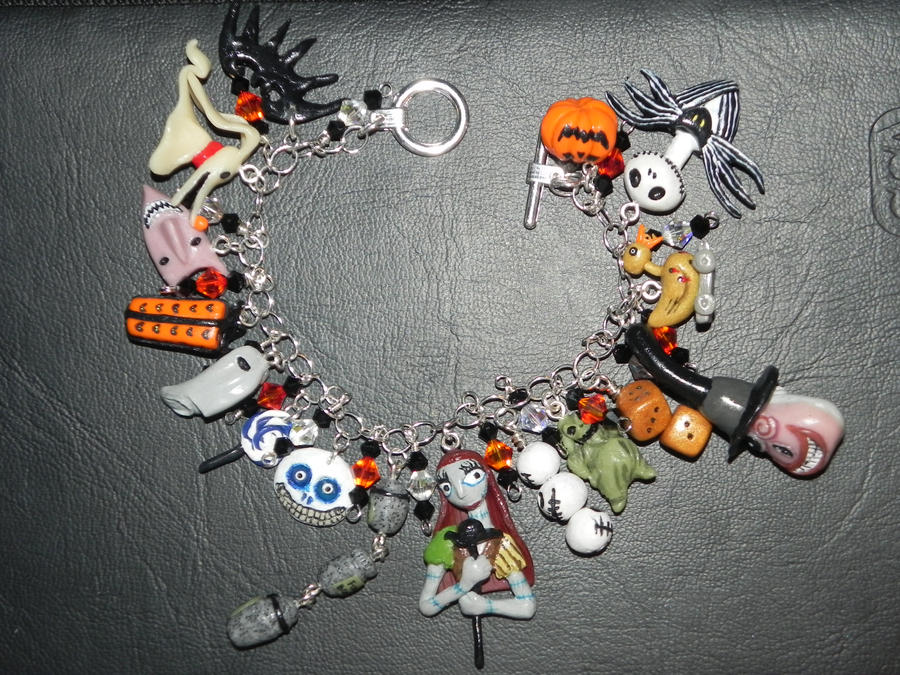 The Nightmare Before Christmas Charms Bracelet wit by Secretvixen ...
