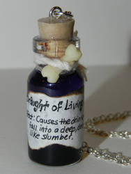 Draught of Living Death, Harry Potter, Glow In Th by Secretvixen
