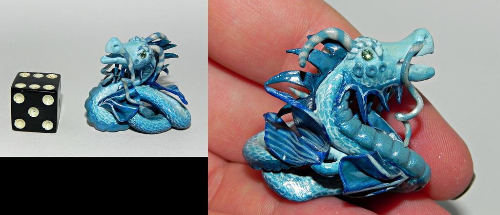 Elemental Water Dragon Custom by Secretvixen