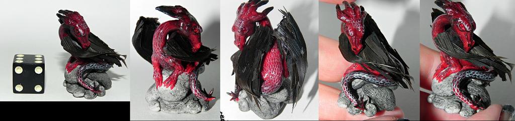 Elemental Fire Dragon by Secretvixen