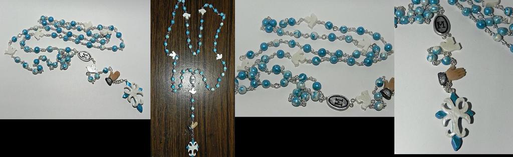 Custom Hand Made Rosary by Secretvixen