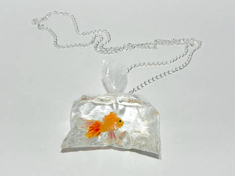 Going to My Forever Home, Goldfish Necklace