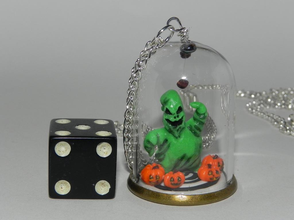Gambling Boogeyman, Glow in the Dark! by Secretvixen