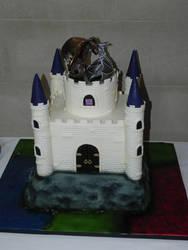Pair of dragons on Wedding Cake