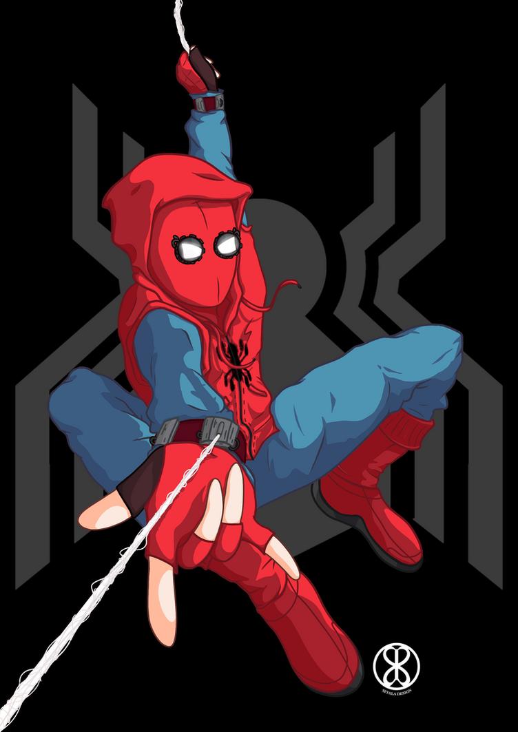 Spiderman by S-Siyala