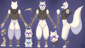 Comm: Alopex Reference Sheet (Shaded Clothed)