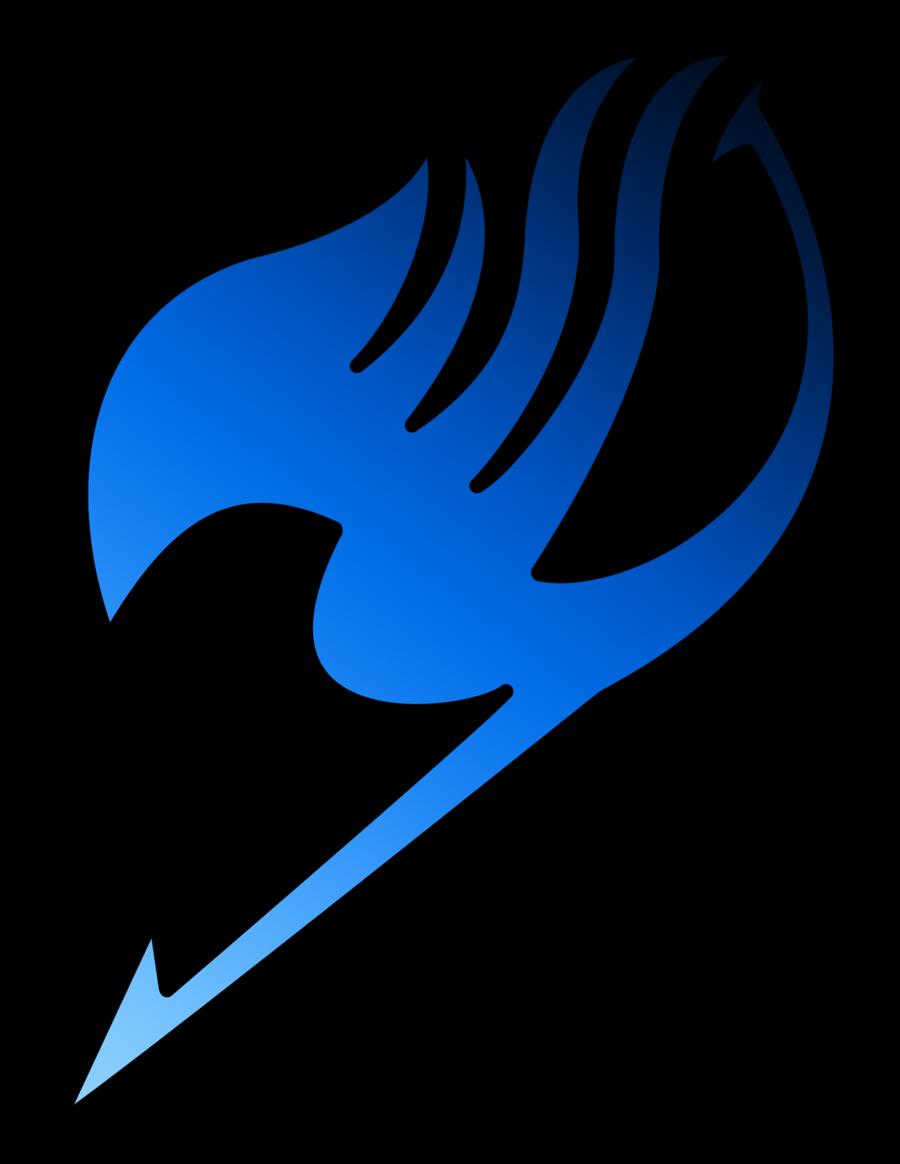 Blue Pegasus   fairytailguilde  Fairy Tail Guild Logo Blue