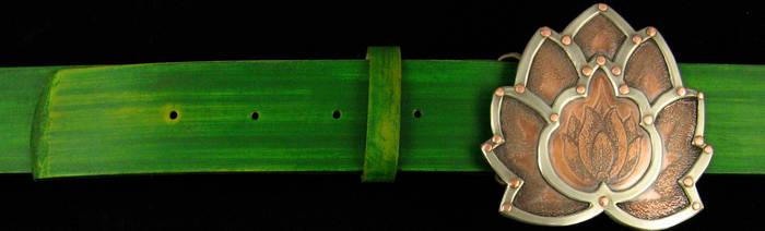 Lotus Belt Buckle