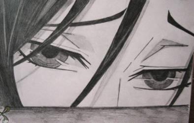 Sebastian Michaelis' eyes II.