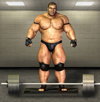 Weightlifter by Orsus