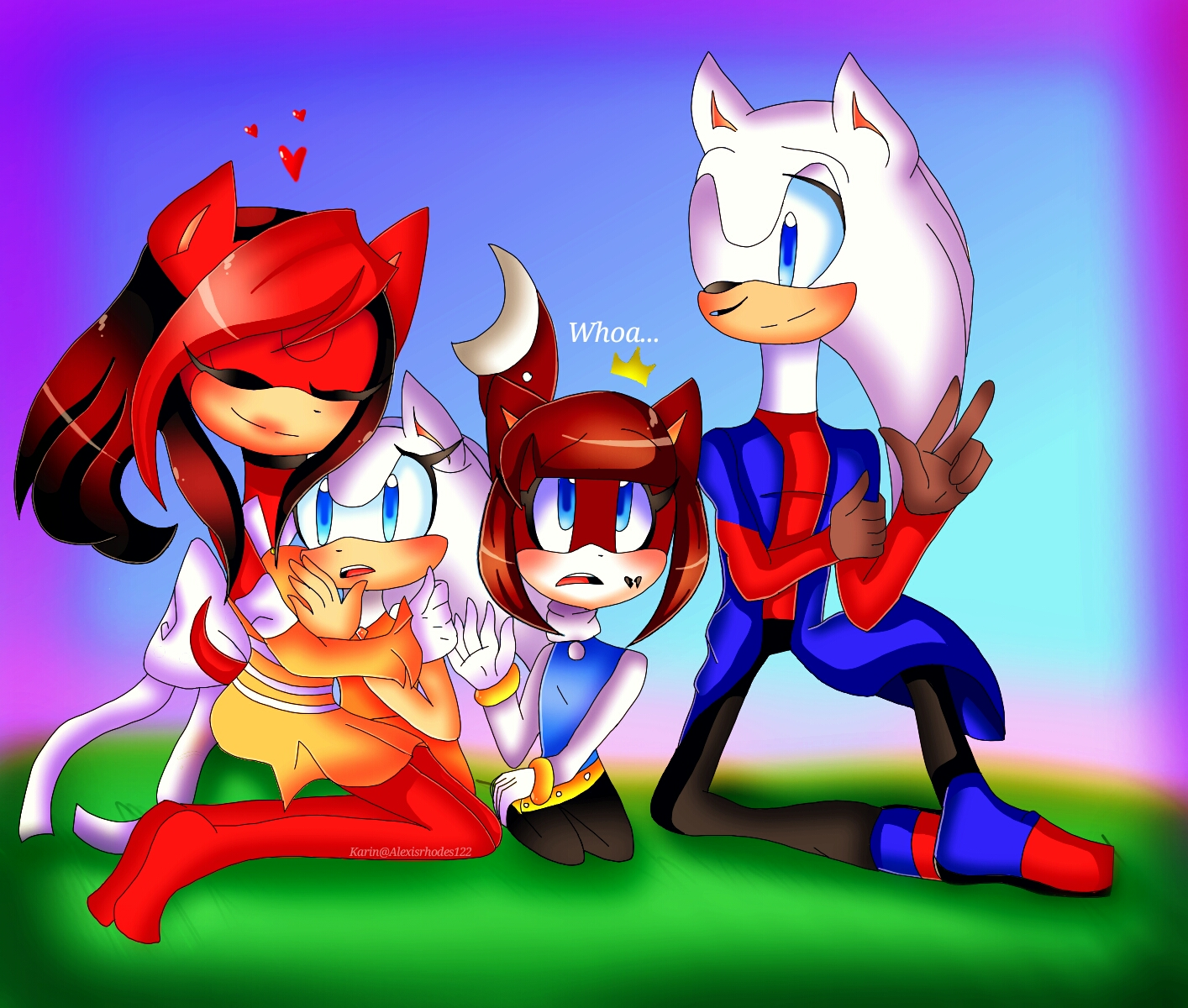 Crazy Little Family~ by Coffee-Karin
