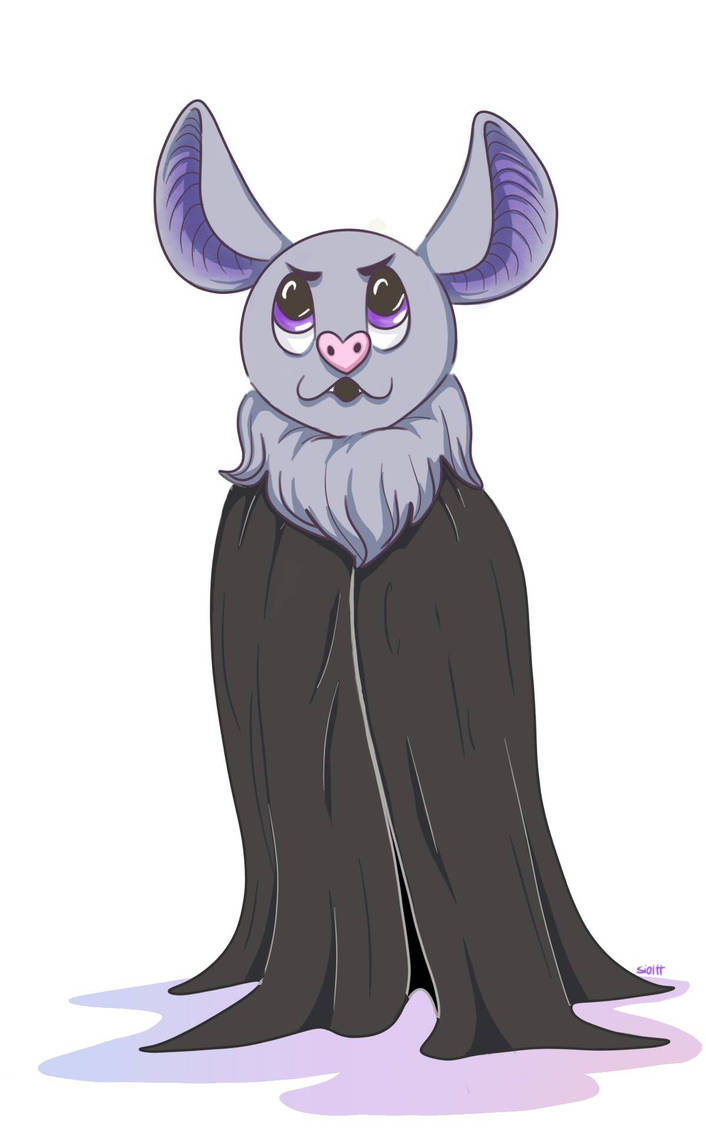 A scary bat by Sioltt