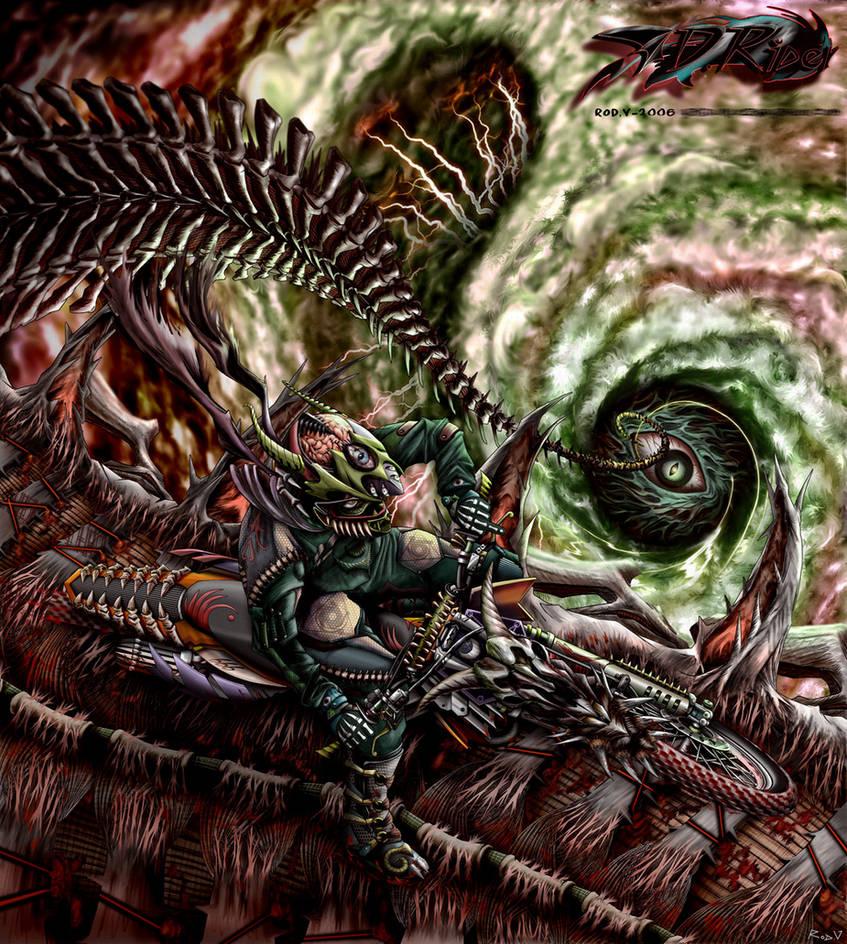 Devil Rider by blackorb00