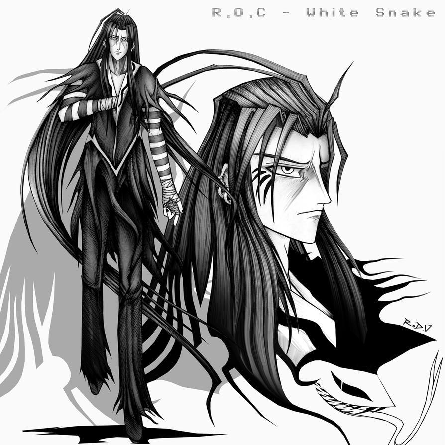 ROC 3 White Snake by blackorb00