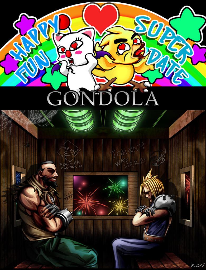 Happy Fun Super Date Gondola by blackorb00