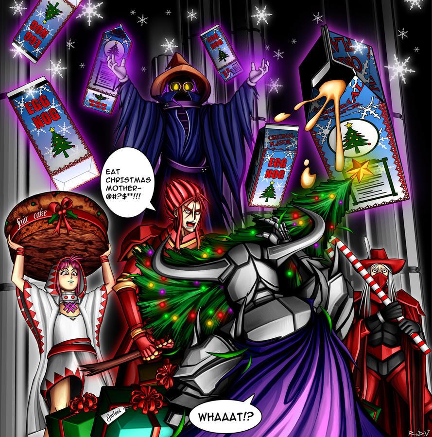 Eat Christmas by blackorb00