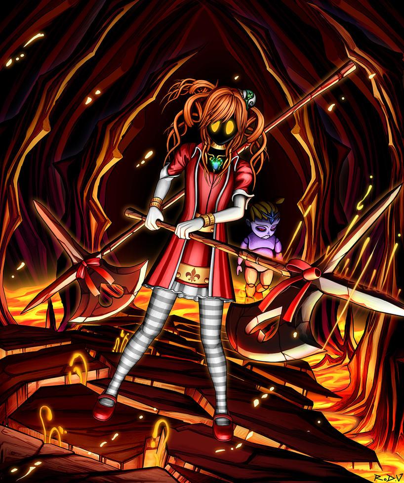 Princess Luca Battle Mode by blackorb00
