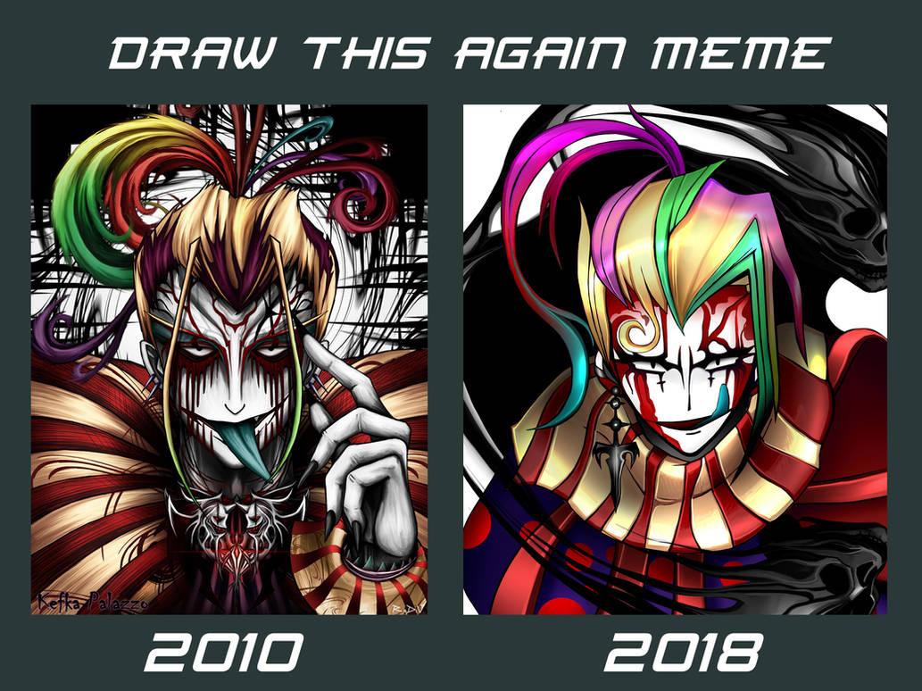 Draw this again - Kefka