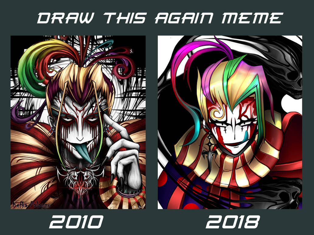 Draw this again - Kefka