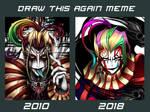 Draw this again - Kefka by blackorb00
