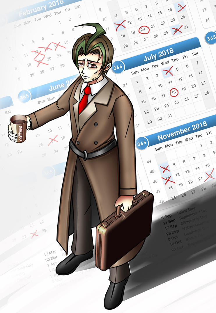 James the salaryman by blackorb00
