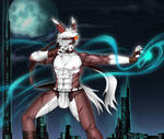 Bunny boy - Art trade by blackorb00