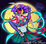 Lunalight Cat Dancer - Art Commission by blackorb00