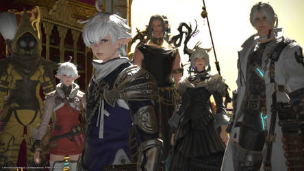 The Whole Crew is Back! - ffxiv