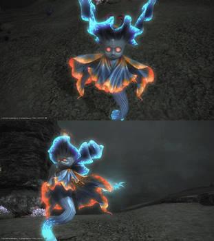 Creepy Ass Undersea Monster - ffxiv by blackorb00