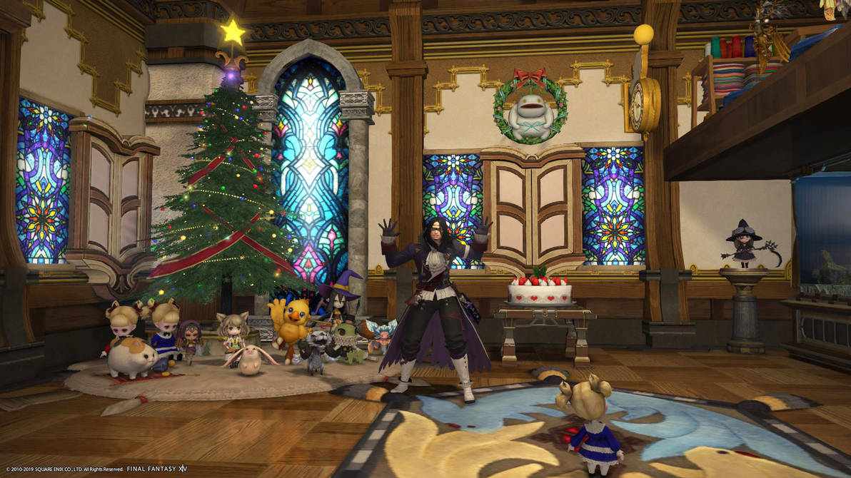 Ffxiv When Is Christmas 2021 Housing Christmas Decorations Ffxiv By Blackorb00 On Deviantart
