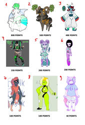 Unused Adopts for Sale - OPEN