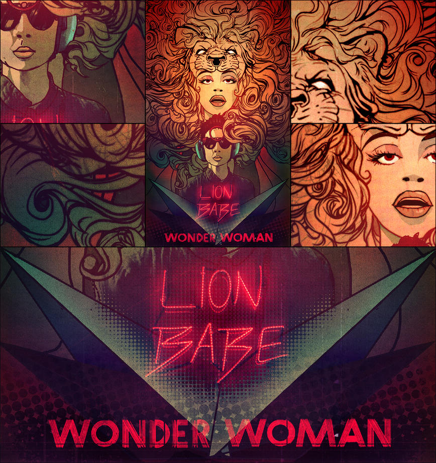 LION BABE's Wonder Woman contest entry by nevs28