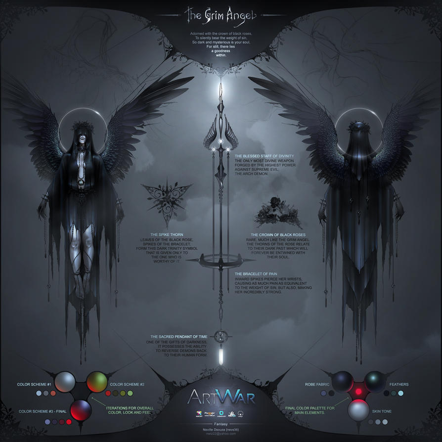 The Grim Angel - Concept Sheet by nevs28