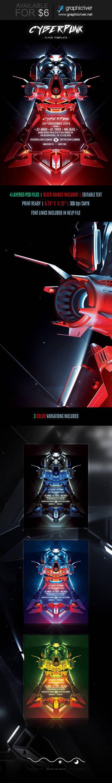 Cyberpunk Flyer