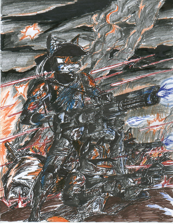 The Battle of Dreyankar by WMDiscovery93