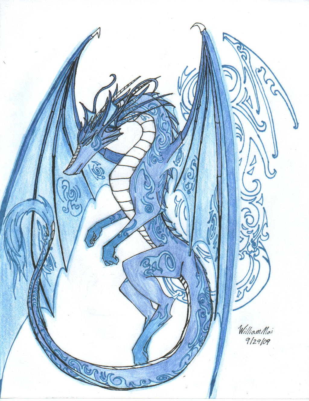 The Anglo-Saxon Ice Dragon by WMDiscovery93 on DeviantArt