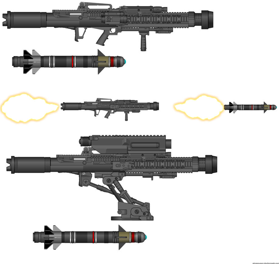 AA-VFF-18 LANCE CMU Launcher by WMDiscovery93