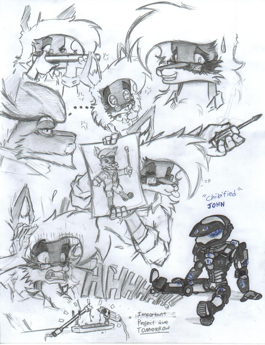 Random doodle practice by NeoLupeTrooper9893