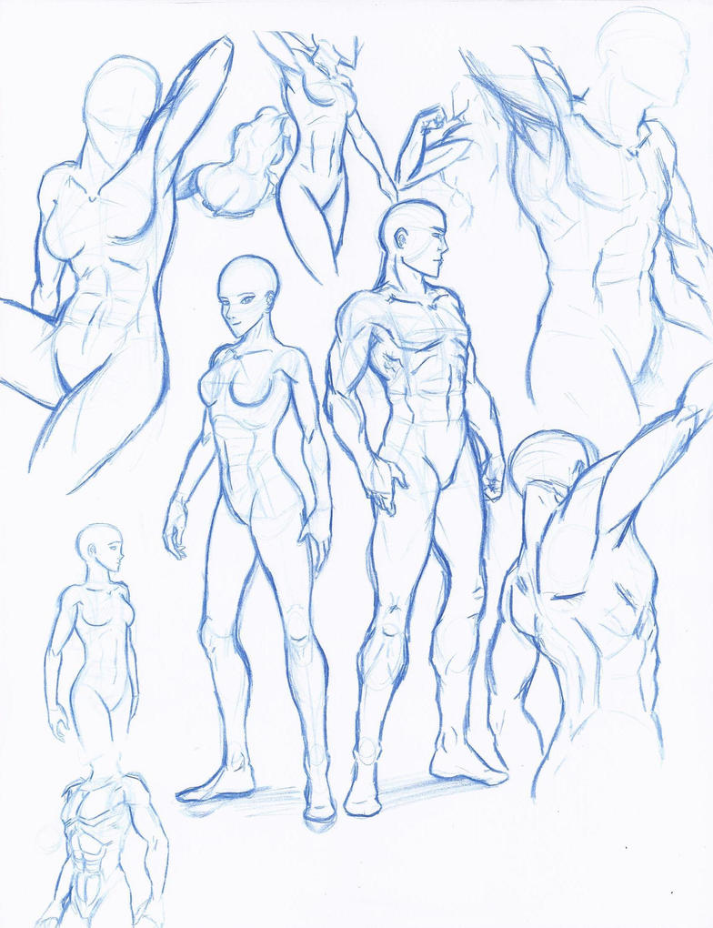 Figure drawing study by WMDiscovery93
