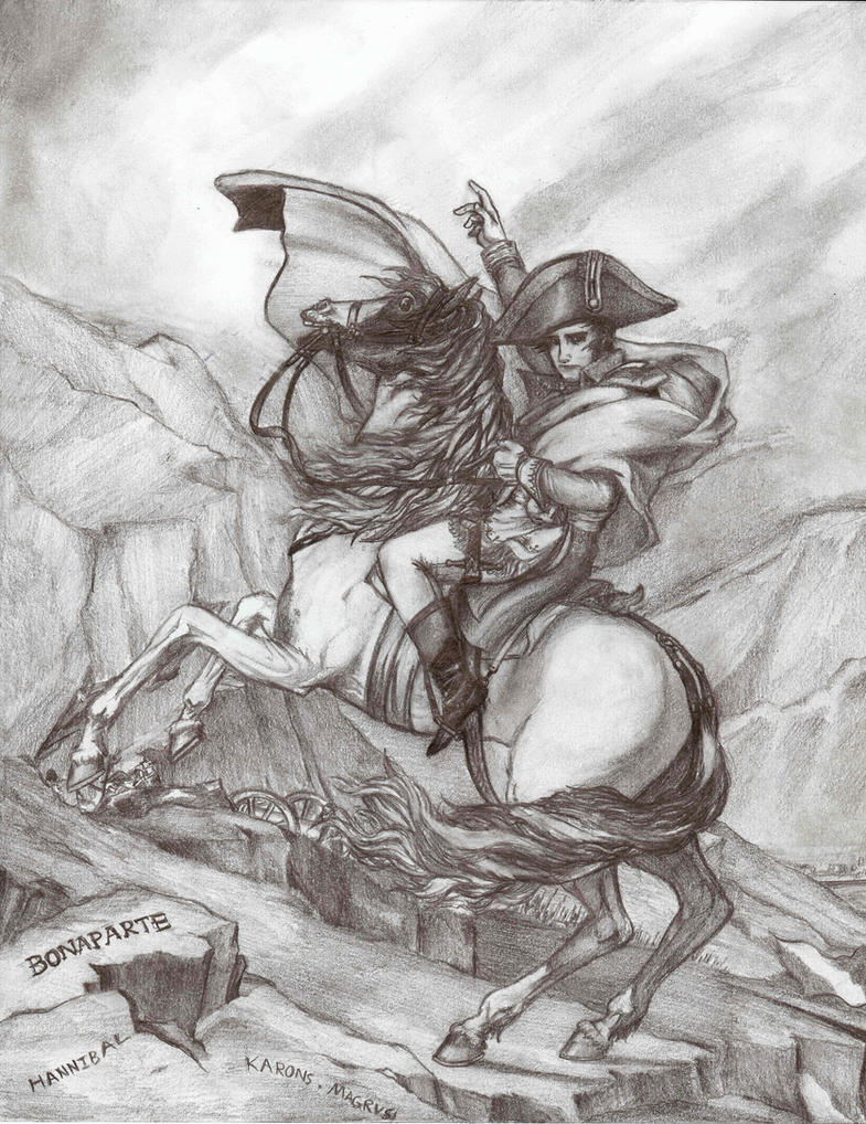 napoleon crossing the alps painting david Artwork highlights from the walker art  standing in front of david's famous painting of napoleon crossing the alps he  who had been a pupil of david, .