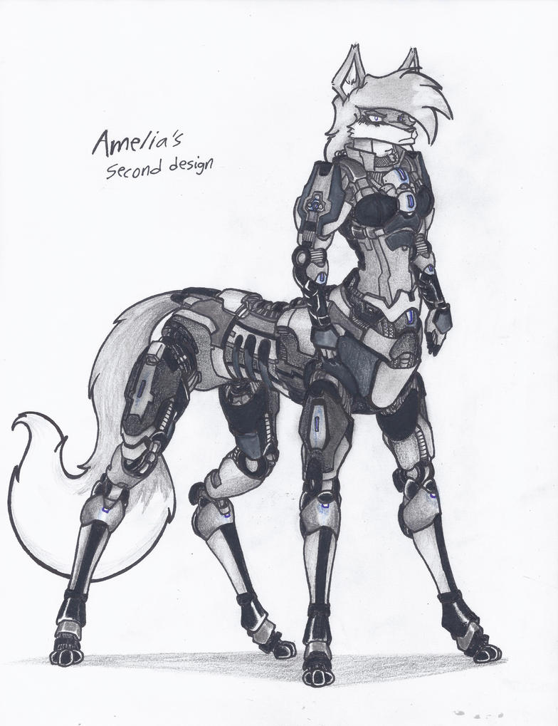 Amelia's 2nd taur design by WMDiscovery93