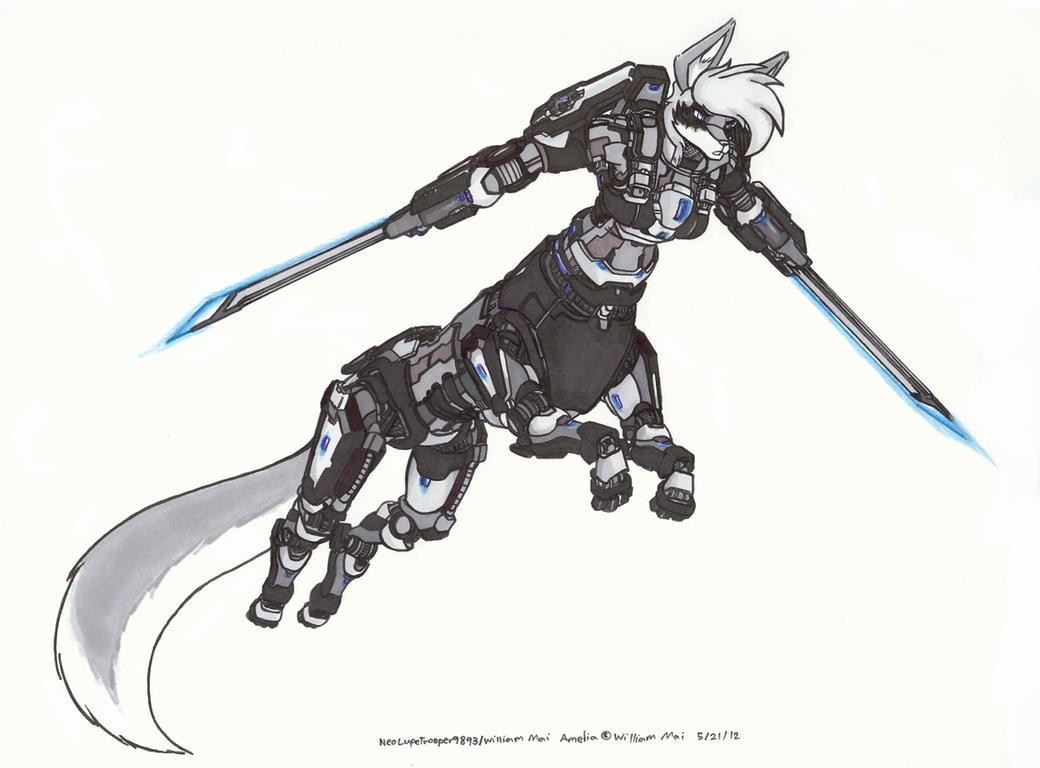 Amelia, Swords Unsheathed by WMDiscovery93