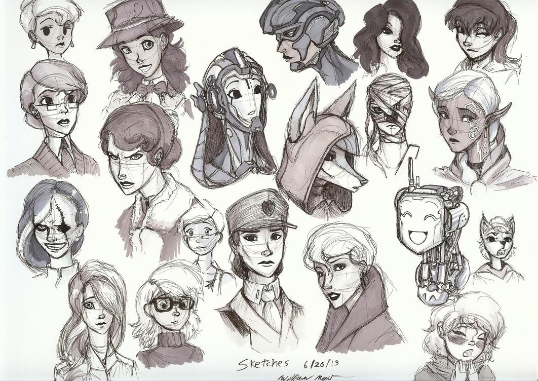 deviantart character sketches -#main