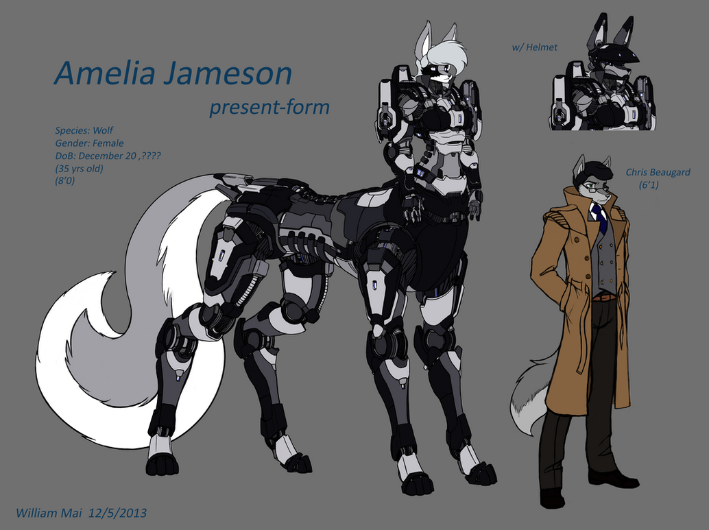 Amelia reference by WMDiscovery93